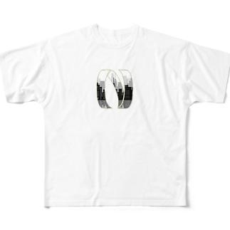橋梁点検 Tシャツ Full graphic T-shirts