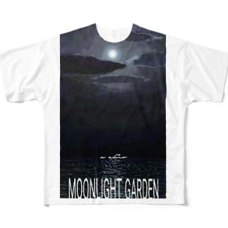 moonlight garden 02 Full Graphic T-Shirt