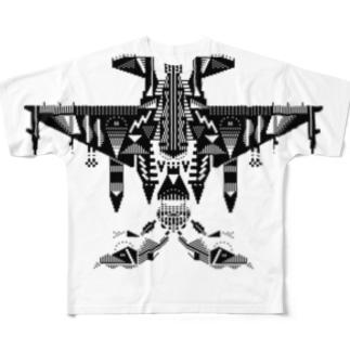 F16蛾 Full graphic T-shirts