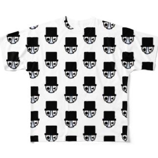 ガムくんがいっぱい Full graphic T-shirts