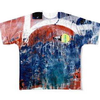 sibuya' Full graphic T-shirts