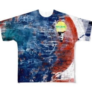 sibuya'' Full graphic T-shirts