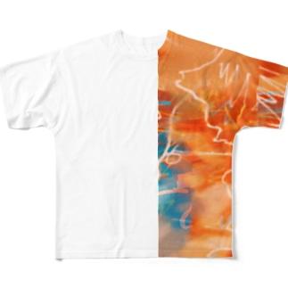 わいわいシャツ Full graphic T-shirts
