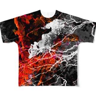 地球ノオト Full graphic T-shirts