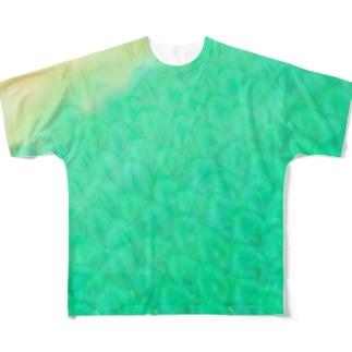 波打ちぎわの半魚人 Full graphic T-shirts
