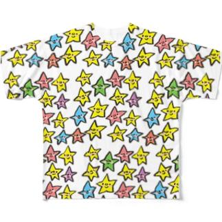 ゴキゲンサンショップのおほしさまたち。 Full graphic T-shirts