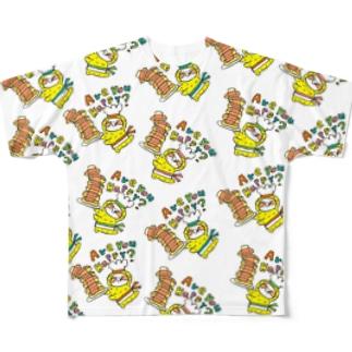 アーユーハッピー? Full graphic T-shirts