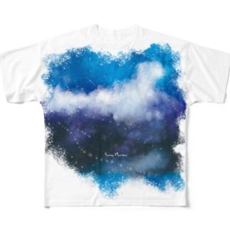 星が降ってくる Full Graphic T-Shirt