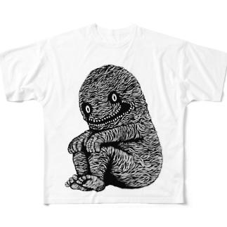 """Dark blanco """"Monster 15"""" Full graphic T-shirts"""