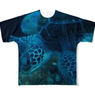 かめT2 Full graphic T-shirts