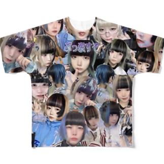 顔面 Full graphic T-shirts