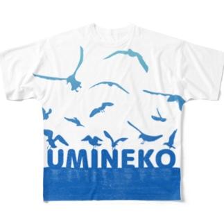 UMINEKO群 Full graphic T-shirts