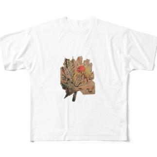 虚漏拿渦や浄化し 賜ふ蓮の華 ともぞうこころの俳句          Full graphic T-shirts