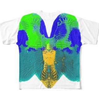 メタモルフォーゼ Full graphic T-shirts