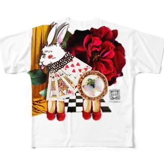 白兎と赤い靴1 Full graphic T-shirts
