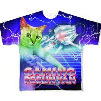 PESUNYAN Full graphic T-shirts