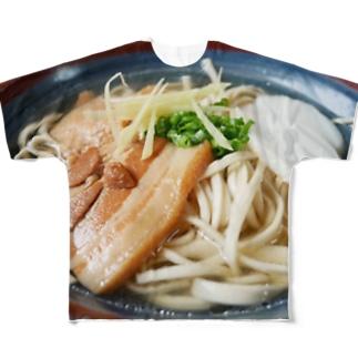 ソーキそば Full graphic T-shirts