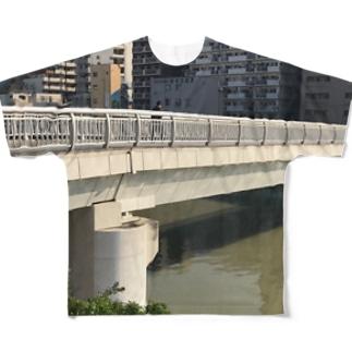 桜川 Full graphic T-shirts