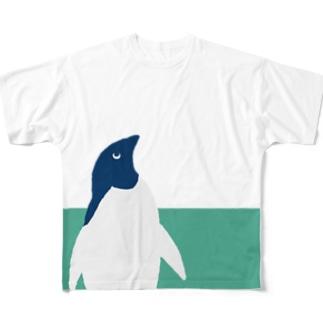 恥ずかしがりやのペンギンズ 3 Full graphic T-shirts