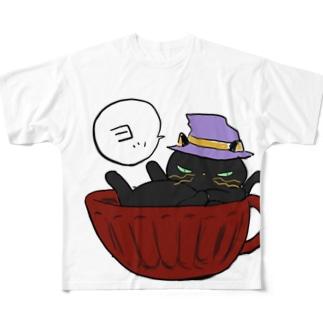 黒江マツコのつぶやきTシャツ Full graphic T-shirts