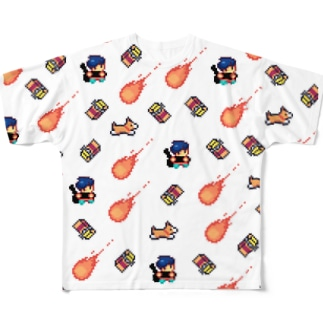 CBMV tile series Full graphic T-shirts