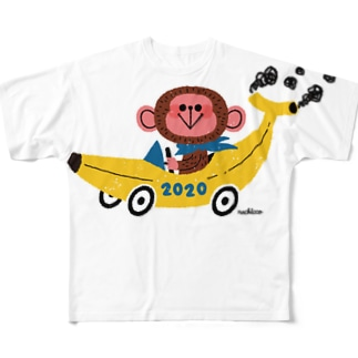 BANANA CAR GRAND PRIX Full graphic T-shirts