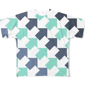 夏色 Full graphic T-shirts