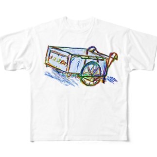リヤカー Full graphic T-shirts