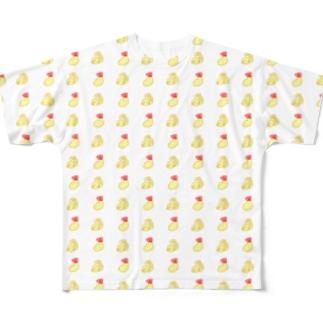 しゃちほことえびふりゃあ Full graphic T-shirts