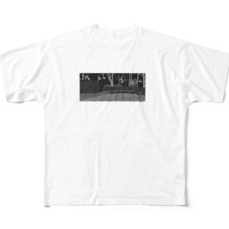 よるの公園 Full graphic T-shirts
