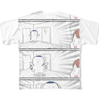 踊る夫・サミ太郎 Full graphic T-shirts