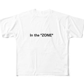 """In the """"ZONE"""" Full graphic T-shirts"""