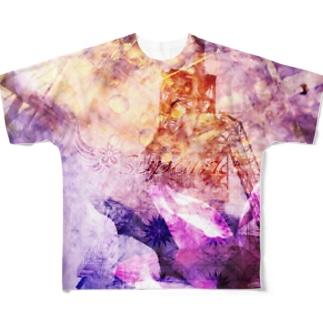 構築と再生 Full graphic T-shirts