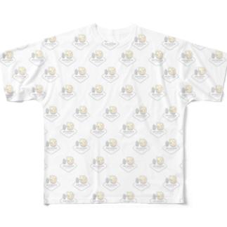 置き物グランプリダミー画像パターンTシャツVer0.1 Full graphic T-shirts