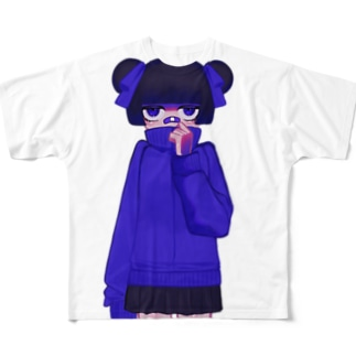 女子高生 Full graphic T-shirts