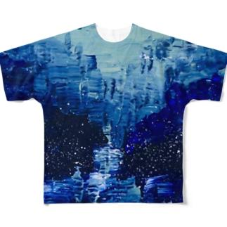 水鏡 Full graphic T-shirts