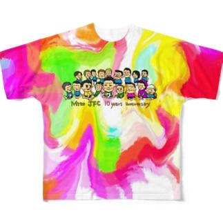 Mito cup3 カラフル Full graphic T-shirts