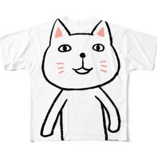にゃーんさん Full graphic T-shirts