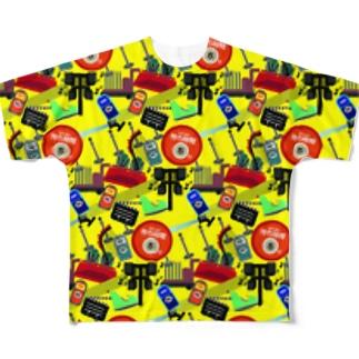 総柄Tシャツ Full graphic T-shirts