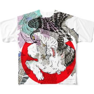 うきよえ Full graphic T-shirts