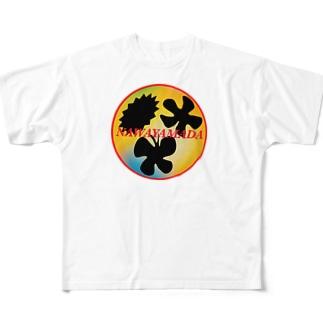 NAWAYAMADA Full graphic T-shirts