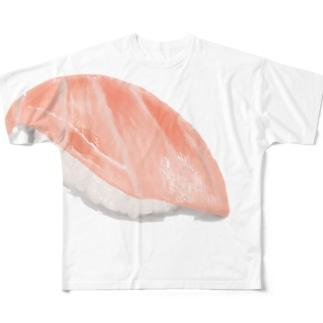 大トロ Full graphic T-shirts