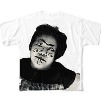 ババア Full graphic T-shirts