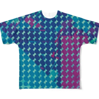 デジタルみたいな感じ Full graphic T-shirts