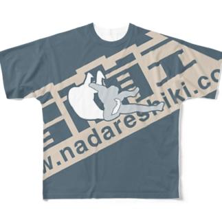 雪崩式ロゴ/キドクラッチB Full graphic T-shirts