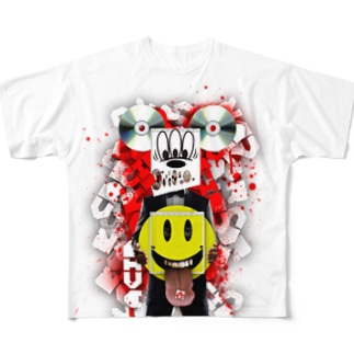 ACID MOUSE Full graphic T-shirts