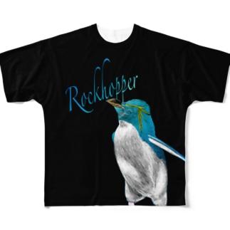イワトビ Full graphic T-shirts