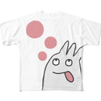 ほげほげ Full graphic T-shirts