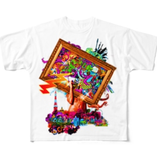 NUDE Full graphic T-shirts