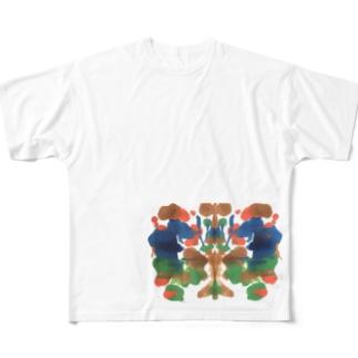 ザリガニ Full graphic T-shirts